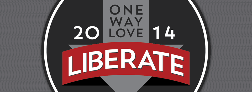 Building a brand for LIBERATE 2014